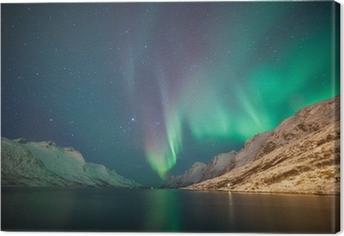 Canvastavla Norrsken, Ersfjordbotn, Tromsö, Norge