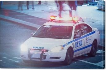 Canvastavla NYPD Polizeiauto
