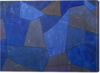 Canvastavla Paul Klee - Stenar på natten