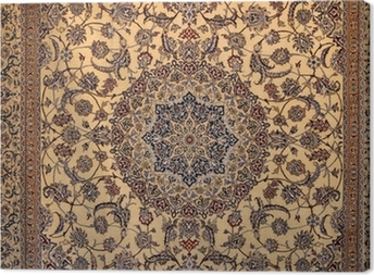 Canvastavla Persisk matta