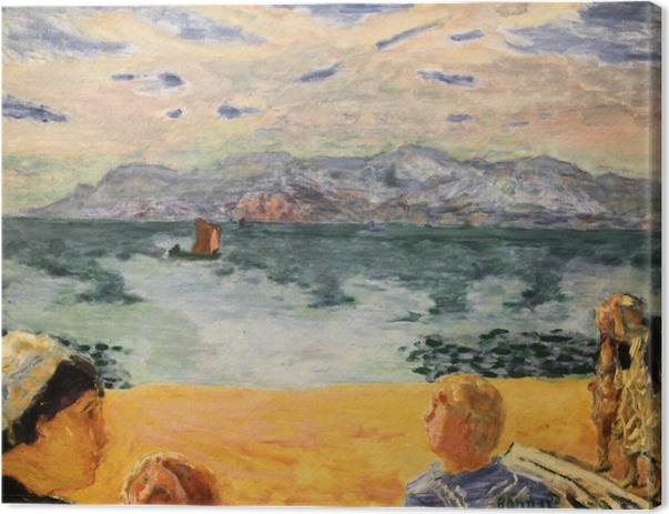 Canvastavla Pierre Bonnard - Parijs. L'Esterel - Reproductions