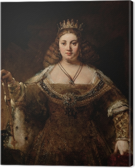 Canvastavla Rembrandt - Juno - Reproduktioner