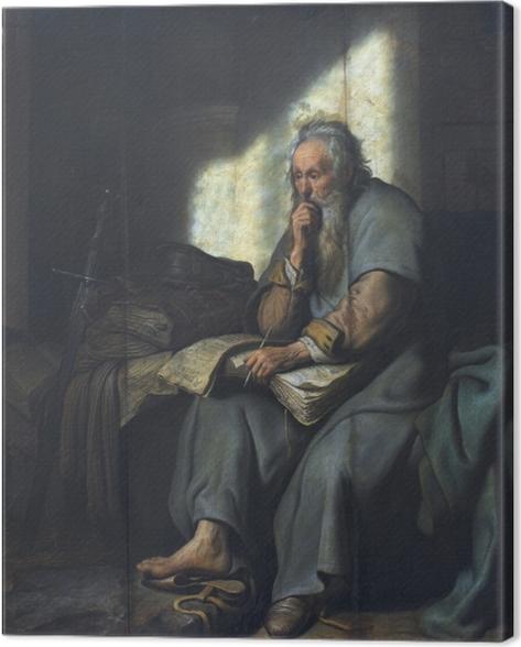 Canvastavla Rembrandt - Paulus i fängelse - Reproduktioner