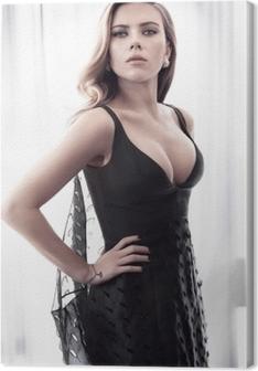 Canvastavla Scarlett Johansson