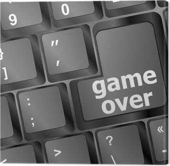 Dekor Tangentbord med game over nyckel - teknik bakgrund • Pixers® - Vi  lever för förändring a8a4e3e699063