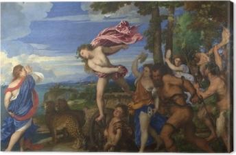 Canvastavla Tizian - Bacchus och Ariadne