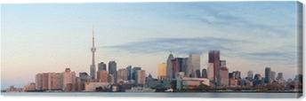 Canvastavla Toronto soluppgång