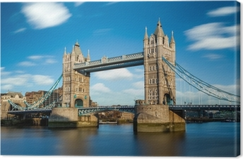 Canvastavla Tower Bridge Londres Angleterre