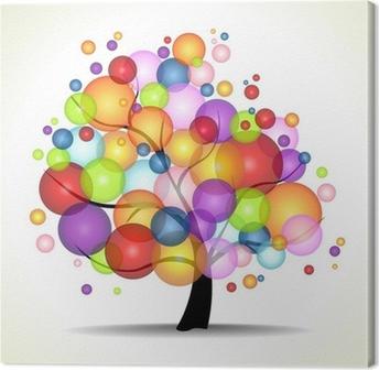 Canvastavla TREE OF LIFE