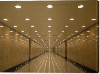 Canvastavla Tunnel av ljus