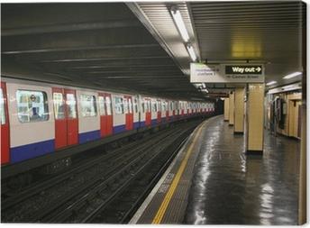 Canvastavla Tunnelbanestation