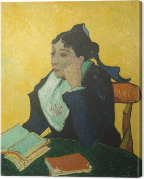 Canvastavla Vincent van Gogh - L'Arlésienne - Reproductions