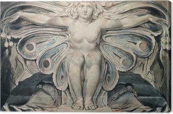 Canvastavla William Blake - Graven personifierad
