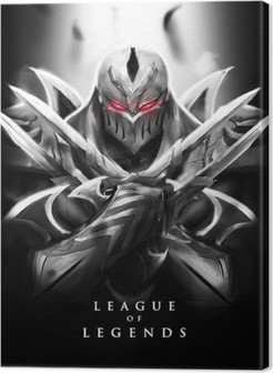 Canvastavla Zed - League of Legends