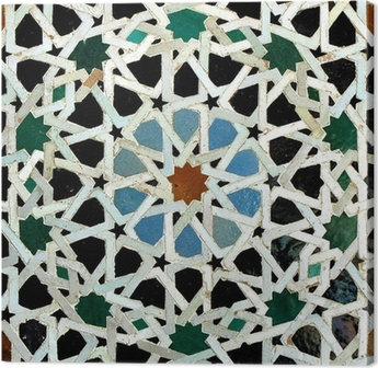 Canvastavla Zelliges (Fès, Maroc)