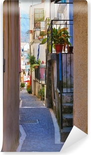 Carta da Parati in Vinile Alleyway. Diamond. Calabria. Italia.