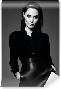 Carta da Parati in Vinile Angelina Jolie