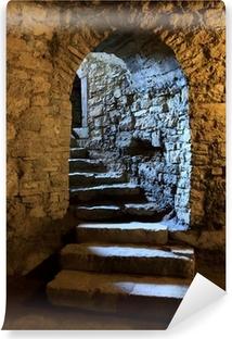 Carta da Parati in Vinile Arco nel castello sotterraneo