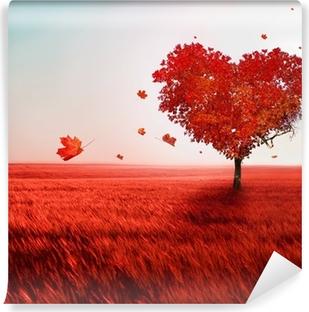 Carta da Parati Autoadesiva Albero d'amore