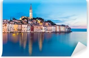 Carta da Parati Autoadesiva Città costiera di Rovigno, Istria, Croazia.