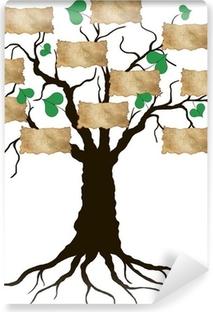 Carta da Parati Autoadesiva Family tree