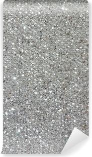 Adesivo Glitter Argento Texture Di Sfondo Pixers Viviamo Per Il