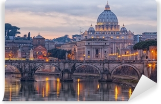 Carta da Parati Autoadesiva Roma Saint Peters Basilica 01