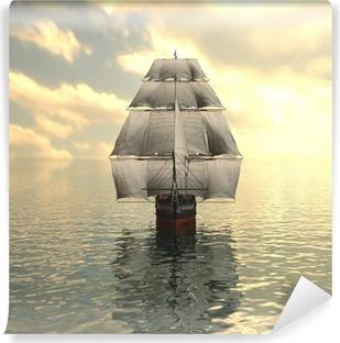 Carta da Parati in Vinile Barca a vela