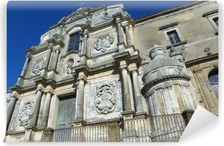 Carta da Parati in Vinile Caltagirone chiesa di San Francesco d'Assisi