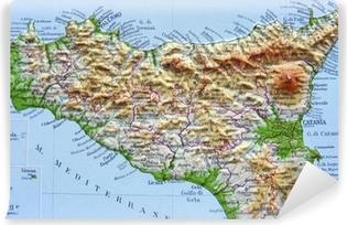 Cartina Geografica Sicilia Politica.Poster Carta Geografica Della Lombardia Pixers Viviamo Per Il Cambiamento