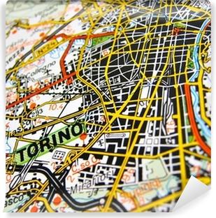 Carte da parati cartina geografica pixers viviamo per for Carta parati torino