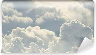 Carta da Parati in Vinile Cielo blu e belle nuvole