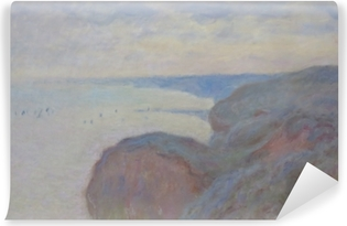 Carta da Parati in Vinile Claude Monet - Steef scogliere vicino a Dieppe