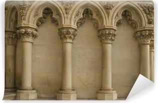 Carta da Parati in Vinile Colonne gotiche