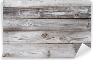 Carta da Parati in Vinile Di età compresa tra sfondo struttura di legno orizzontale