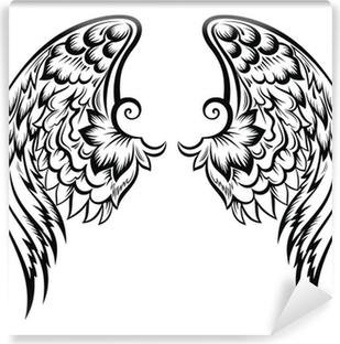 Carta Da Parati Ali Di Angelo Di Disegno Del Tatuaggio Pixers