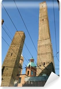 Carta da Parati in Vinile Due torri di Bologna