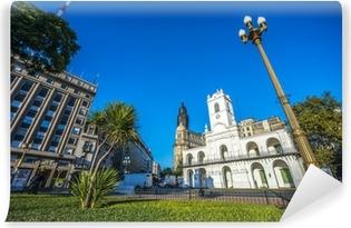 Carta da Parati in Vinile Edificio Cabildo di Buenos Aires, Argentina