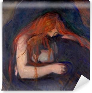 Carta da Parati in Vinile Edvard Munch - Vampiro
