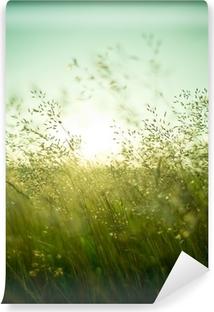 Carta da Parati in Vinile Estate Erba Dry