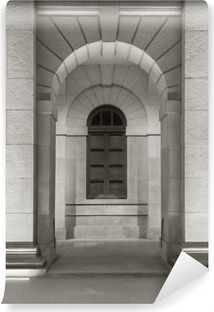 Carte da parati architettura prospettiva pixers - Carta da parati per esterno ...