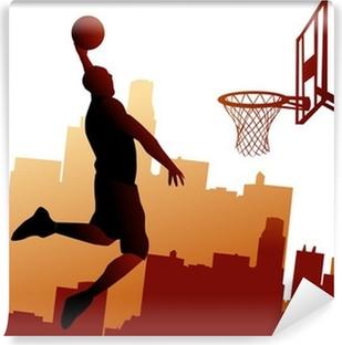 Carte da parati basket pixers viviamo per il cambiamento for Carta parati ragazzi