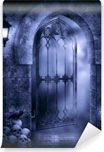 Carta da Parati in Vinile Gothic Fantasy