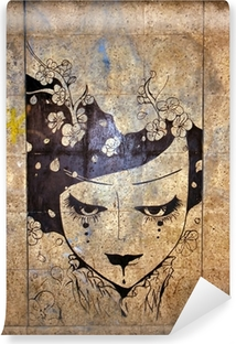 Carta da Parati in Vinile Graffiti - street art