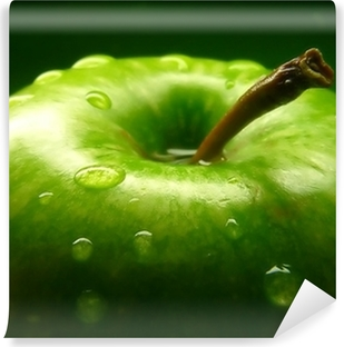 Carta da Parati in Vinile Green apple