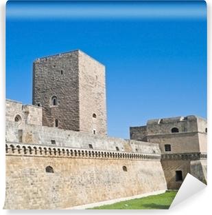 Carta da Parati in Vinile Il castello Normanno-Svevo di Bari. Puglia.