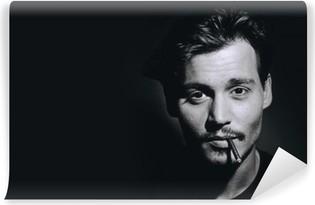 Carta da Parati in Vinile Johnny Depp