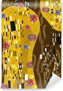 Carta da Parati in Vinile Klimt ha ispirato l'arte astratta