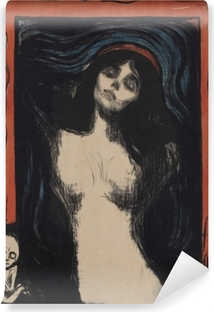 Carta da Parati Lavabile Edvard Munch - Madonna