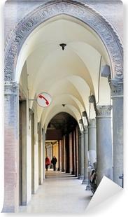Carta da Parati Lavabile Italia Bologna tipico portico.